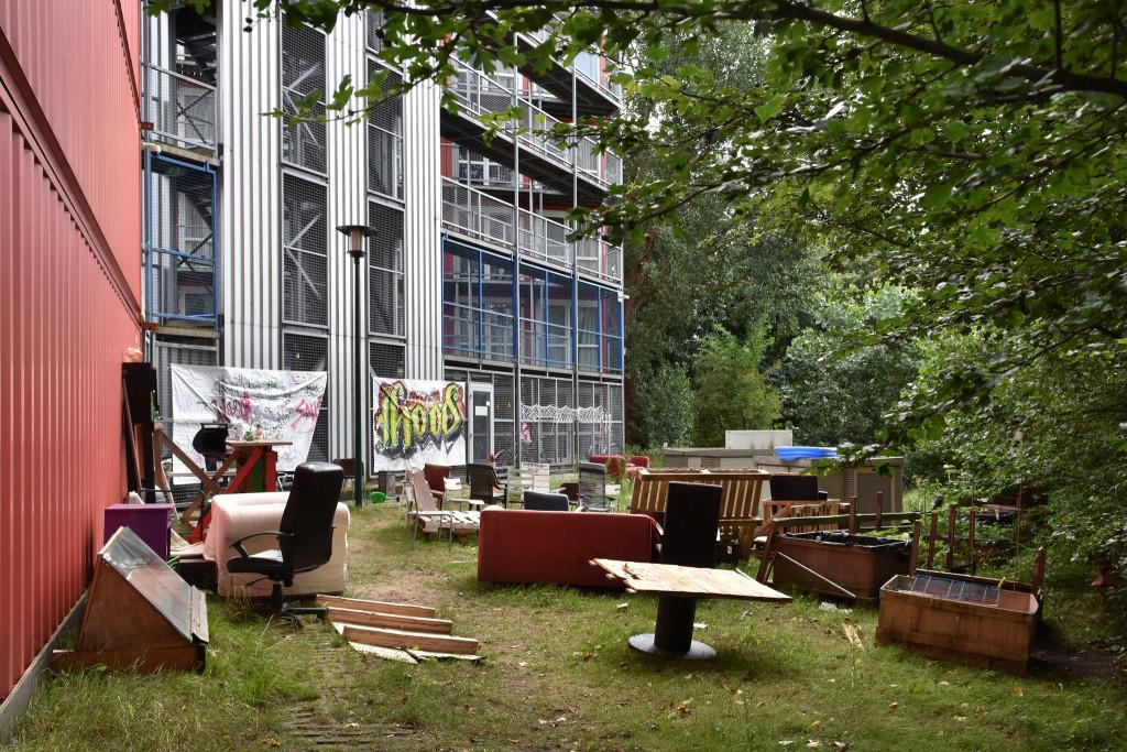 Dominique Panhuysen, Containercampus Bijlmerbajes Bajesdorp,                               ,